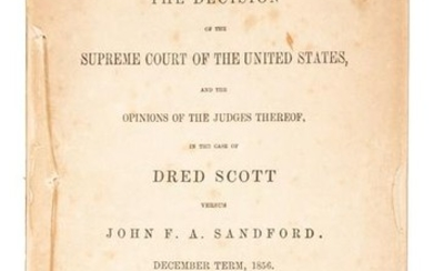 Dred Scott v. Sandford, 1857