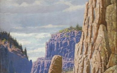 Edward Espey Grand Canyon Oil on Canvas Californi