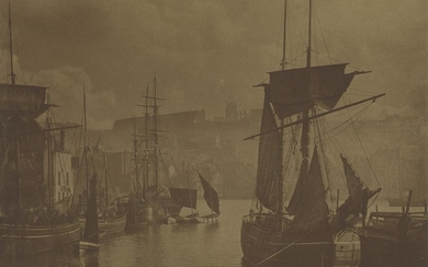 FRANK MEADOW SUTCLIFFE (1853-1941) Whitby Harbor, The...