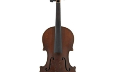 A German Violin from the Martin Workshop Labeled: E....