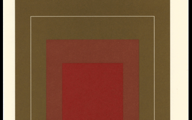 Untitled (White Line Squares) (Six Works)