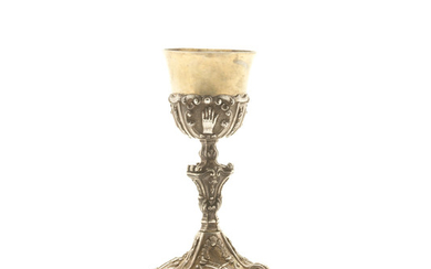 A silver chalice