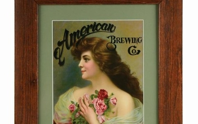 AMERICAN BREWING CO. SIGN.