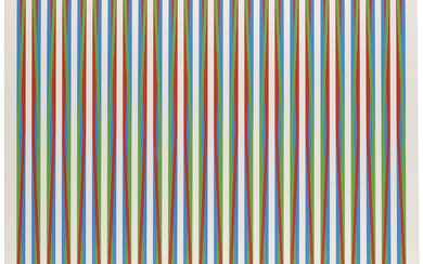 BRIDGET RILEY (B. 1931), Firebird