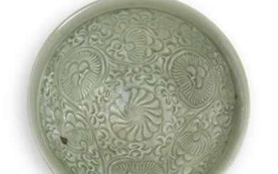 A MOULDED 'YAOZHOU' BOWL NORTHERN SONG DYNASTY