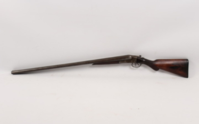 Chicago Long Range Wonder � a double barrel 12 gauge shotgun