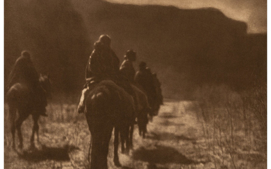 Edward Sheriff Curtis (1868-1952), The North American Indian, Portfolio 1 (Complete with 39 works) (1904-1907)