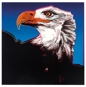 Andy Warhol - Andy Warhol: Bald Eagle (from Endangered Species Portfolio)