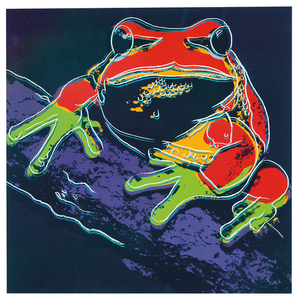 Andy Warhol - Andy Warhol: Pine Barrens Tree Frog (from Endangered Species Portfolio)