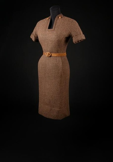 Christian Dior Haute Couture Day Dress and Belt,