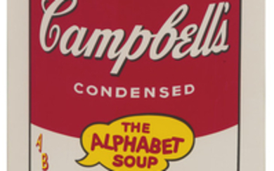 Andy Warhol - Andy Warhol: Vegetarian Vegetable (from Campbell's Soup II)