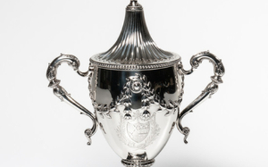 George III Sterling Silver Two-handled Cup and Cover