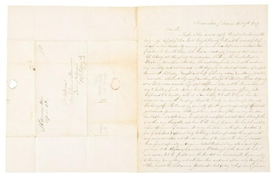 Letter by teenaged 49er, later Mormon elder of