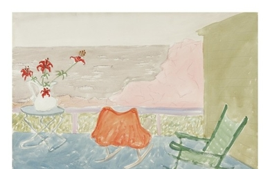 MILTON AVERY | SEA SIDE PORCH