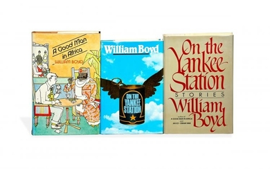 William Boyd, Works, first and limited editions, signed by the author [most UK, 1981-1998]