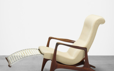 Vladimir Kagan, Multi-position lounge chair, model VK100