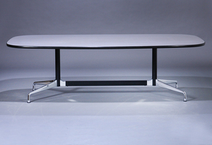 Charles and Ray Eames. 'Segmented Table', L. 240 cm.