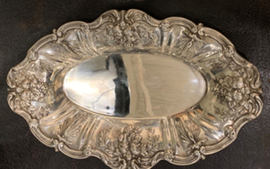 14 TOW, FRANCIS I BREAD STERLING SERVING TRAY