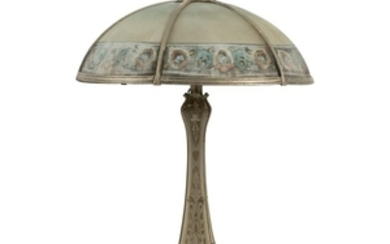 Reverse - Table Lamp - Painted