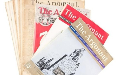More than 80 issues of SF's Argonaut mainly from 1905