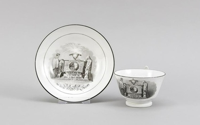 Cup with saucer, Eng
