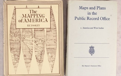 "NO RESERVE, ""[Lot of 2] The Mapping of America [and] Maps and Plans in the Public Record Office - 2. America and West Indies"""