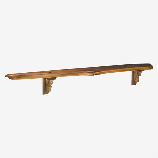PHIL POWELL Large wall shelf