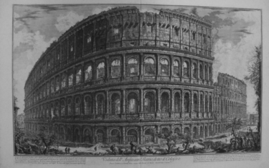 Piranesi, Giovanni: THE COLOSSEUM, Year 1757