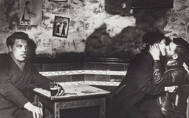 Bill Brandt, At Charlie Brown's, Limehouse