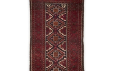 A Belouchistan rug late 19th/early 20th century 6 ft....