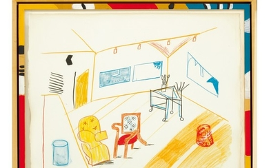 DAVID HOCKNEY | CONVERSATION IN THE STUDIO (M.C.A.T. 260)
