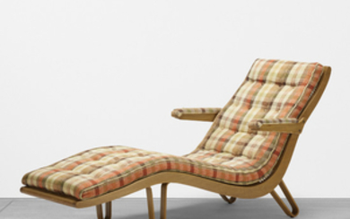 Edward Wormley, chaise lounge, model no. 46903