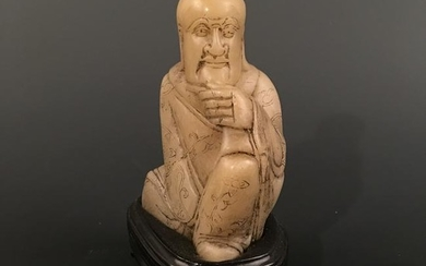 Chinese Carved Jade Figure