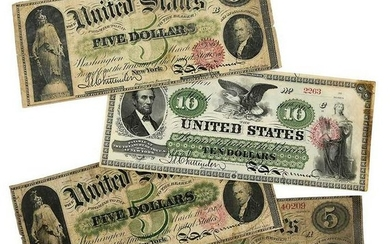 Four United States Notes