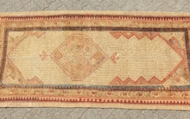 A PERSIAN TRIBAL SARAB RUNNER with long central motif