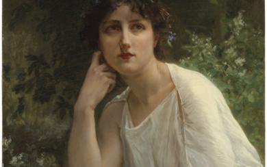Guillaume Seignac (French, 1870-1929), Woman in White