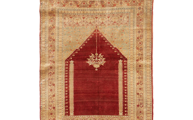 A Silk Prayer Rug