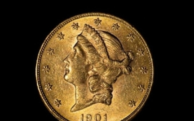 A United States 1901 Liberty$20 Gold Coin