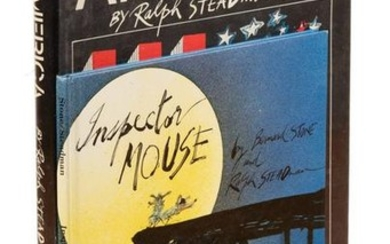 Two volumes illustrated by Ralph Steadman, 1 signed