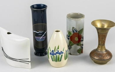 Collection of Asian Bud Vases