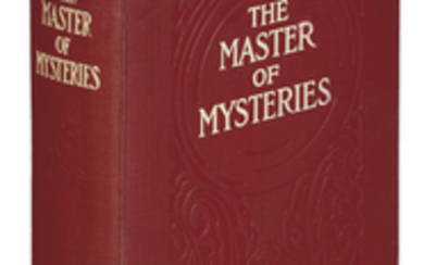[BURGESS, GELETT.] The Master of Mysteries. Illustrated...