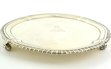 A George III Silver Waiter, by John Carter, London, 1771,...