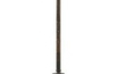 A Neoclassical Bronze Floor Lamp EARLY 20TH CE