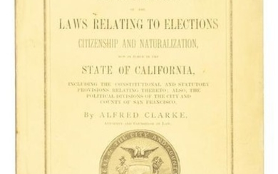 San Francisco laws, 1877