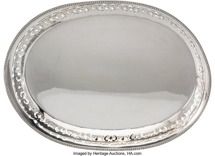 21014: A Tiffany & Co. Silver Tray, New York, 1903-1904