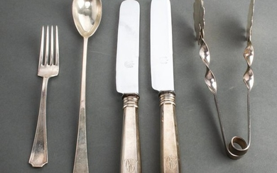 Silver Serving Utensils & Others Group of 5