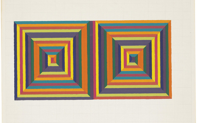 FRANK STELLA (B. 1936), Fortin de las Flores I, from: Ten From Leo Castelli