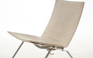 Poul Kjærholm. PK 22 lounge chair, canvas