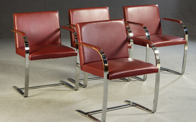 Ludwig Mies van der Rohe, cantilever chair, model 'Brno MR50', Knoll International (4)