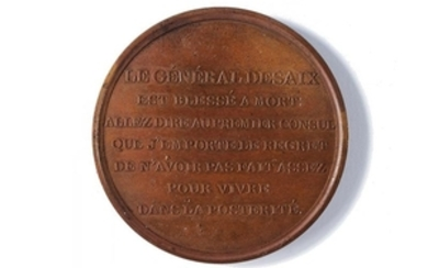 MEDAL OF THE BATTLE OF MARENGO AND THE DEATH OF GENERAL ANTOINE DESAIX